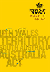 Federal Court Annual Report 2013-14