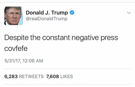 Donal J. Trump tweet