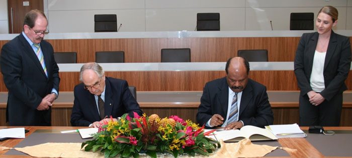 PNG MoU Signing - PGSP III