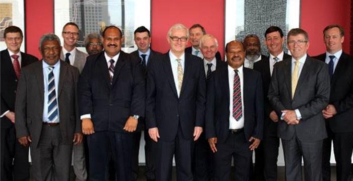 PNG MoU Signing visit 2014