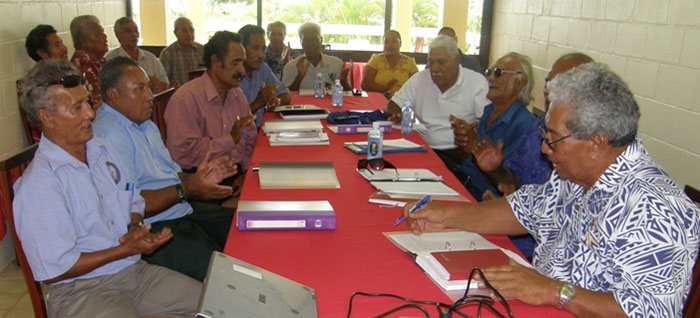 Tokelau Judicial, Court Staff & Police Workshops