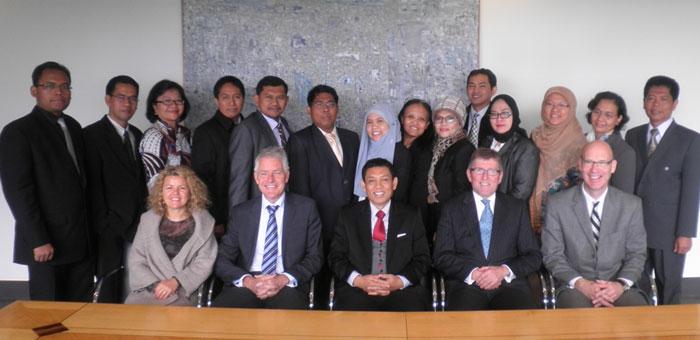 Indonesia Delegation Visit 2013